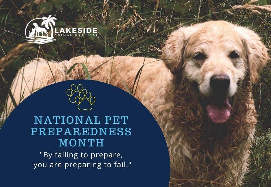 pet preparedness month